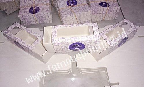 cetak packaging Kings