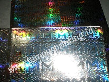 stiker segel hologram
